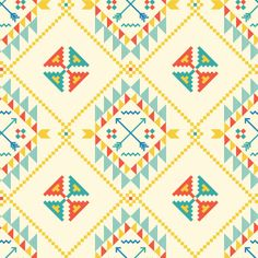 Be Diff - Estampas geométricas | Navajo pattern by Chaino