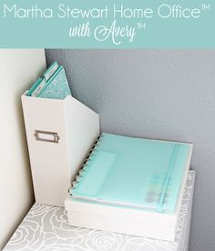 Staying organized with @Martha Stewart  Home Office with Avery products! @Martha Stewart  #marthastewarthomeoffice #marthastewart