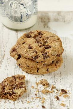 עוגיות שוקולד צי'פס רכות ונימוחות