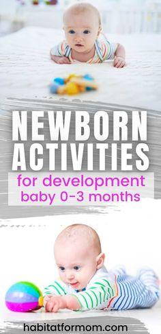 7 Fun Newborn Activities That Will Help Your Baby's Development | Habitat for Mom