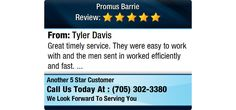 Great timely service. They were easy to work with and the men sent in worked efficiently...