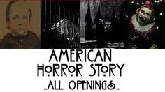 American Horror Story - All Openings - YouTube