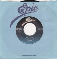 "MTUME / Juicy Fruit (2 Versions) / 7"" Vinyl 45 RPM Jukebox Record / Epic 03578 #MTUME #JuicyFruit #RnB #Music"