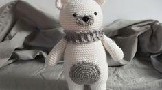 polar bear amigurumi free pattern