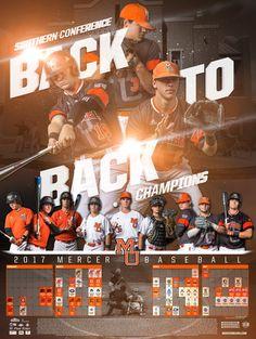 2017 Mercer Baseball Schedule Poster Baseball Banner, Baseball Crafts, Sports Baseball, Baseball Mom, Volleyball Posters, Baseball Posters, Sports Posters, Sports Art, Ncaa Softball
