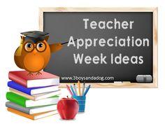 Teachable Moments: Teacher Appreciation Week!