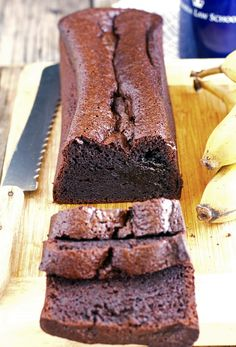 The Iron You: (Gluten-Free) Blender Chocolate Banana Bread Dairy Free Deserts, Gluten Free Desserts, Gluten Free Recipes, Paleo Dessert, Dessert Recipes, Nutella Banana Bread, Sorbets, Gluten Free Chocolate, Gluten Free Baking
