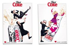 Diet Coke – sexy, playful & delicious by Marc Jacobs – If you are a collector of the limited edition Coca-Cola x fashion bottles (and cans), you can now add those by Marc Jacobs to your range of Karl Lagerfeld and Jean-Paul Gaultier bottles. As Creative Director of Diet Coke , Marc has chosen a very playful way to present new cans ad bottles (check out the video bellow). 30 years of Diet...