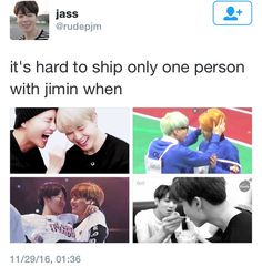 Sometimes I wish I could be Jimin for 1 day