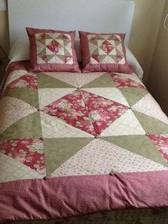 1 million+ Stunning Free Images to Use Anywhere Colchas Quilting, Quilting Projects, Quilting Designs, Sewing Projects, Big Block Quilts, Quilt Blocks, Patchwork Cushion, Sewing Pillows, Quilting For Beginners