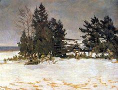 Зима. Коровин Константин Алексеевич (1861-1939)