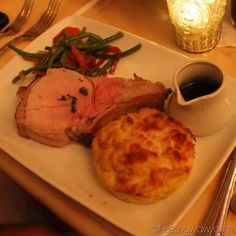 Dinner at Be Our Guest Restaurant