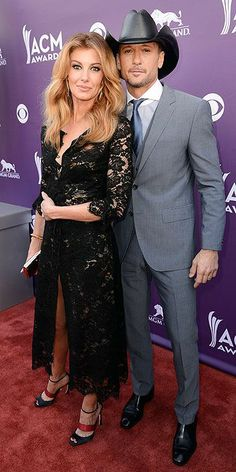 Faith Hill and Tim McGraw at the 2013 ACM Awards event American Country Music Awards, Academy Of Country Music, Country Music Artists, Country Music Stars, Country Singers, Famous Couples, Hot Couples, Celebrity Couples, Celebrity Style