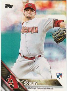 2016 Topps Series 1 Baseball  Zack Godley #290 Arizona Diamondbacks Rookie  #ArizonaDiamondbacks