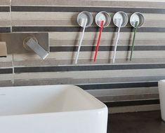 Click Pic for 18 DIY Bathroom Storage Ideas - Recycled Toothbrush Holders - Bathroom Organization Ideas