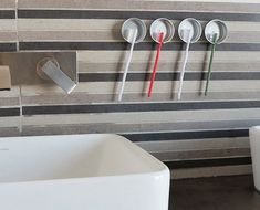 Click Pic for 18 DIY Bathroom Storage Ideas - Recycled Toothbrush Holders - Bathroom Organization Ideas