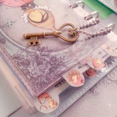 Dividers with top tab for Filofax PERSONAL by lucyWONDERLAND, €6.00