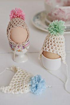17 FREE Egg Cozies Crochet Patterns