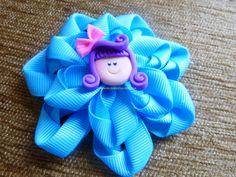 flores en cinta para el cabello paso a paso  video  265