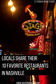 Locals know where the best restaurants are so check out these 10 restaurants which locals deem their favorite!