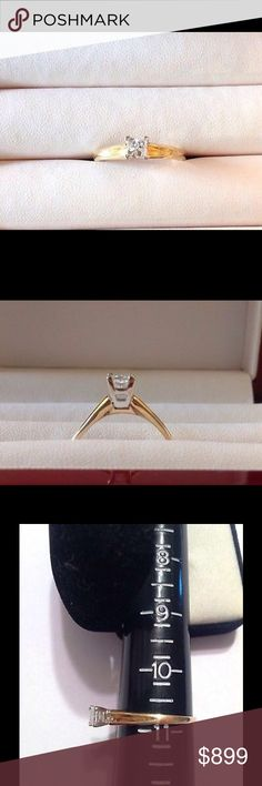 .55CT Diamond Ring 14K Y Gold Certified Platinum 55CT SI G Princess Diamond Engagement Ring 14K Yellow Gold Certified Platinum. TAJ designer BRILLIANT AND CLEAR WITH A HIGH WHITE COLOR. THE MOUNT IS SOLID PLATINUM. SI/G size 10.75. Can be resized by your favorite jeweler Jewelry Rings