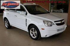 2013 Chevy Captiva LT - White - 25K Miles - Like New!
