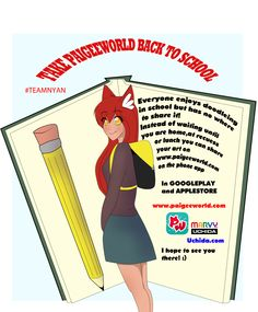 Join us back to school at www.paigeeworld.com on its app :D