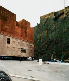 The CaixaForum - Madrid, Spain