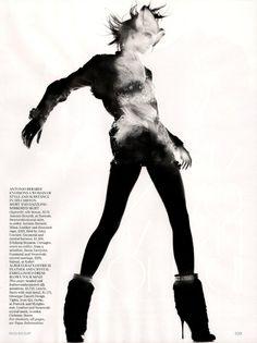 81b3614505b Raquel Zimmermann by Nick Knight for Vogue UK November Refined Rebel 11
