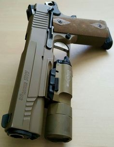 Sig Sauer 1911 .45 ACP w/SureFire X300-A Ultra Tactical Light