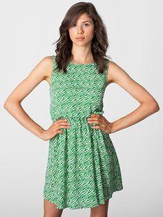 American Apparel - California Select Original Cut-Out School Girl Dress