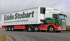 The Eddie Stobart fleet stands at 2,250 trucks and growing.