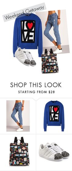 Weekend Getaway by bee-borromeo on Polyvore featuring Love Moschino, adidas Originals and LeSportsac