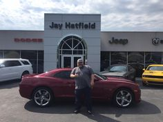 Congratulations and Best Wishes DOUGLAS on the purchase of your 2010 Chevrolet  Camaro!  We sincerely appreciate your business, Jay Hatfield CDJR and SHAWN STRANG.