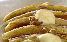 Banana and Pecan Pancakes Recipe by Tyler Florence