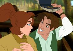 "Anastasia (voiced by Meg Ryan): ""Do you really think I'm royalty?"" // Dimitri (voiced by John Cusack): ""You know I do!"" // Anastasia: ""Then stop bossing me around!"" -- from Anastasia (1997) directed by Don Bluth and Gary Goldman"