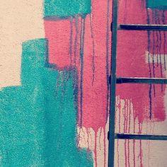 wall drips via @happymundane • Instagram