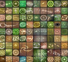 Crop Circle Collage