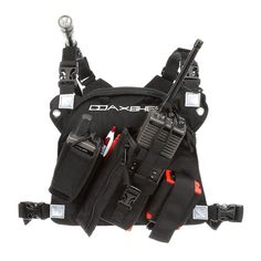 Radio chest harness for wildland firefighting, search and rescue, ski patrol, etc. Unparallel in design and workmanship the RCP-1 Pro radio chest harness comes loaded with all the bells and whistles.