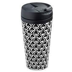Mug de voyage isotherme Black and white
