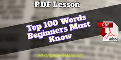 Afrikaans PDF Lessons for Beginners. Free Downloads. Afrikaans Language, Learn Hindi, 100 Words, Language Lessons, Learning Arabic, Free Downloads, Finland, Pdf, Classroom