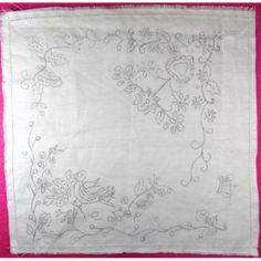 Resultado de imagem para Lenços de namorados Embroidery Patterns, Stencils, Cross Stitch, Outlines, Rugs, Sewing, Drawings, 1, Home Decor