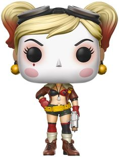 It's getting pretty sexy over here with this Bombshells Harley Quinn collectible figurine. Crazy Harley Quinn stands before you in a provocative outfit. Get your hands on this approx. 10-cm-tall collectible figurine and complete your collection. Where would the Joker be without Harley Quinn?