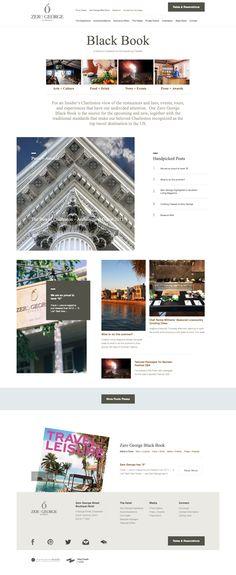 Zero George Street - Boutique Hotel Website Black Book Blog - Charleston, SC