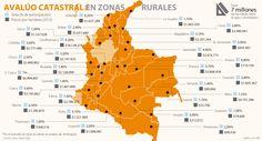 Cundinamarca tiene el área rural más cara del país