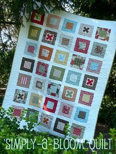 Layer Cake Quilt As You Go : Precut fabric quilts on Pinterest Jelly Rolls, Charm ...