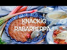 Knäckig rabarberpaj | Tidningen Hembakat