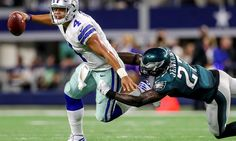Dak Prescott grows up in a hurry in gritty win over Eagles = Throughout most of this past Sunday night's game, the Philadelphia Eagles' defense was a thorn in the side of Dallas Cowboys quarterback Dak Prescott.  The Eagles slowed down Ezekiel Elliot and the Cowboys'.....