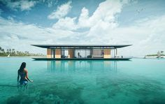 Floating House... away!