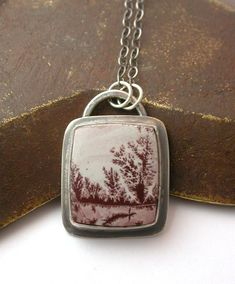April higashi dendritic agate pendant other jewels done right sonoran dendritic agate pendant flickr photo sharing aloadofball Images